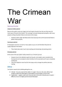 Preview of AS Crimean notes