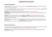 Preview of AS Economics: Organisational structures