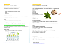 Preview of AS EDEXCEL BIOLOGY CORE PRACTICAL UNIT 2