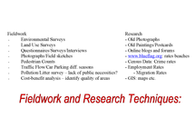 Preview of AS Geography: Fieldwork and Research Techniques Poster