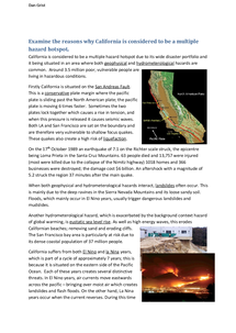 Preview of AS Geography: The California hotspot
