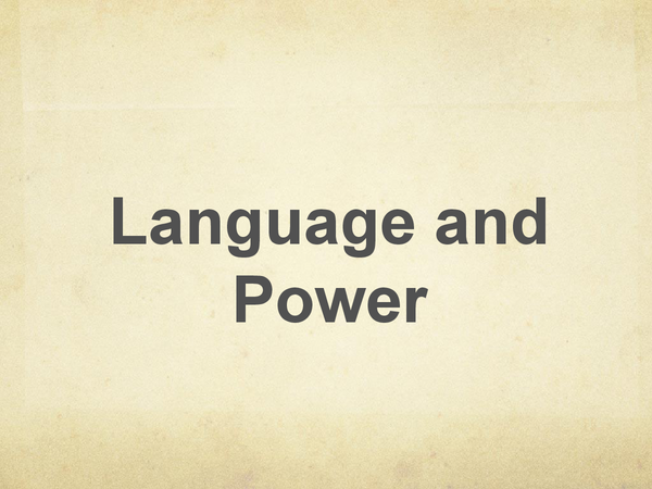 Preview of AS Language and Power