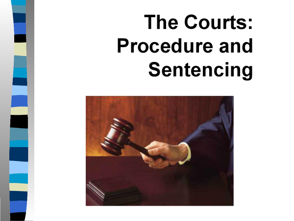 Preview of AS Law: Procedure of Criminal Courts