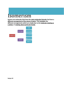 Preview of AS Level Chemistry Isomerism (FULL)