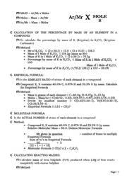 ib chemistry revision notes pdf