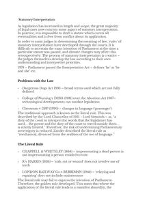 Preview of As Statutory Intrepretation