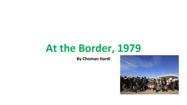Preview of At the Border, 1979 Analysis