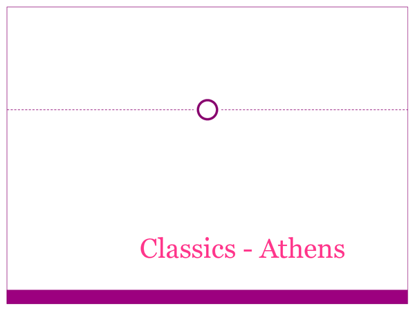 Preview of athens course for OCR