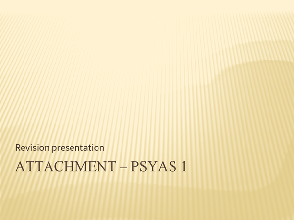 Preview of Attachment - Complete Revision Powerpoint