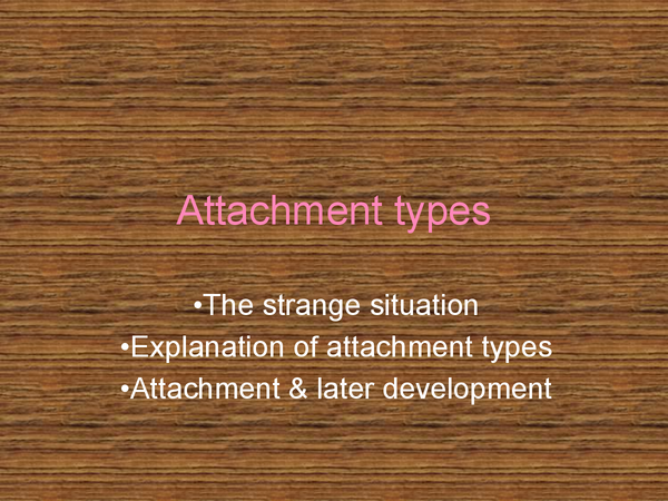 Preview of Attachment types.