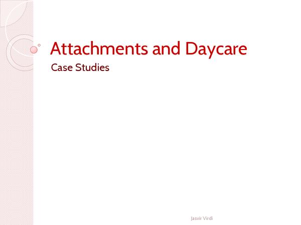 Preview of Attachments - Daycare Revision Cards