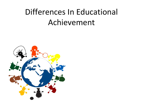 Preview of Attainment Gap/Differential Education Achievement