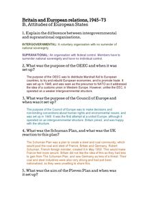 Preview of Attitudes of European States