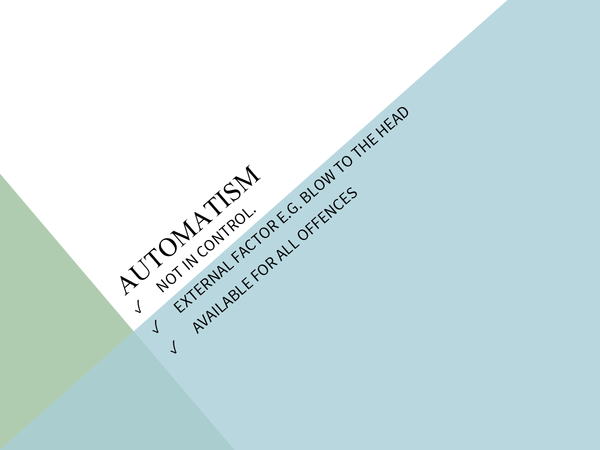 Preview of Automatism