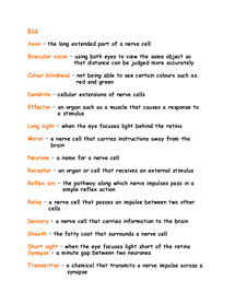 Preview of B1D GLOSSARY