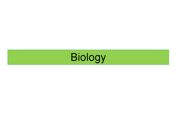 Preview of B2 Biology revision powerpoint