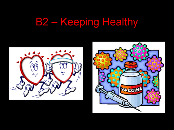 Preview of B2 - Keeping Healthy