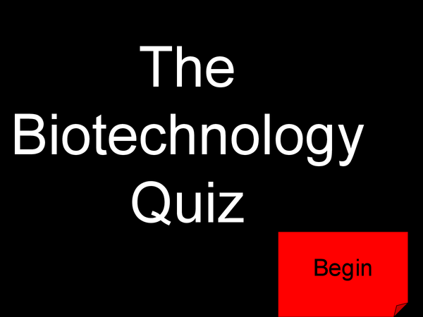 Preview of B3 biotechnology quiz