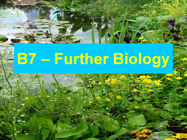 Preview of B7, Triple science Biology around the ecosystem
