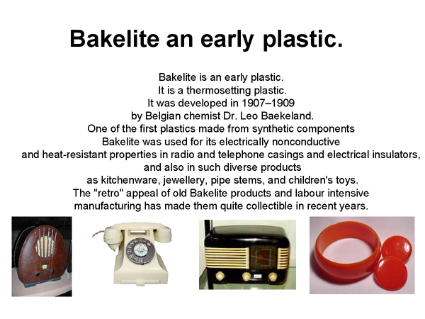 Preview of Bakelite