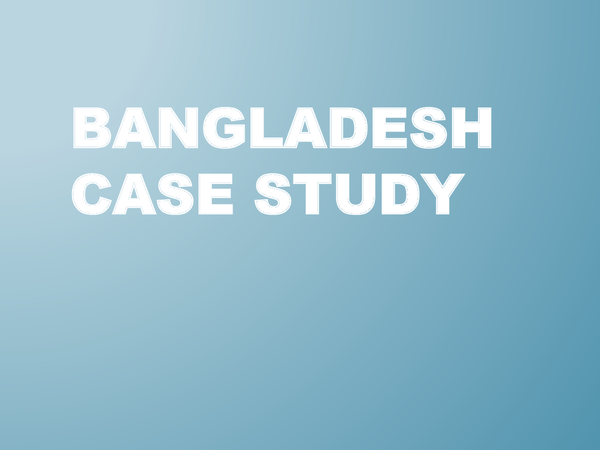 Preview of Bangladesh Flooding - Causes and Impacts