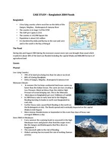 Preview of Bangledesh 2004 Floods - Case Sudy
