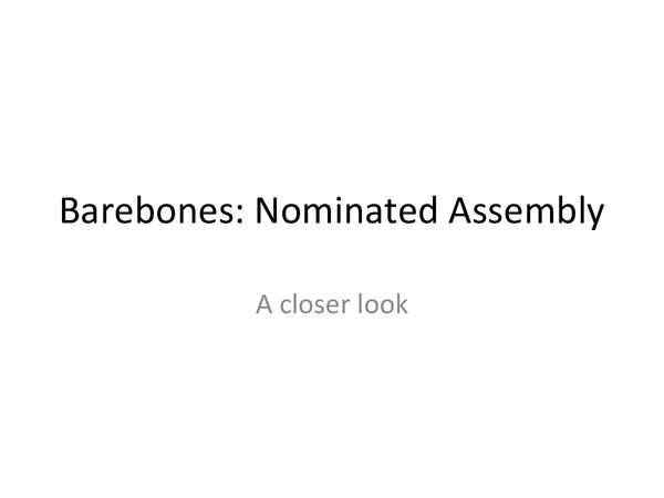 Preview of Barebones Parliament