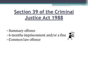 criminal law what is a section 5 application