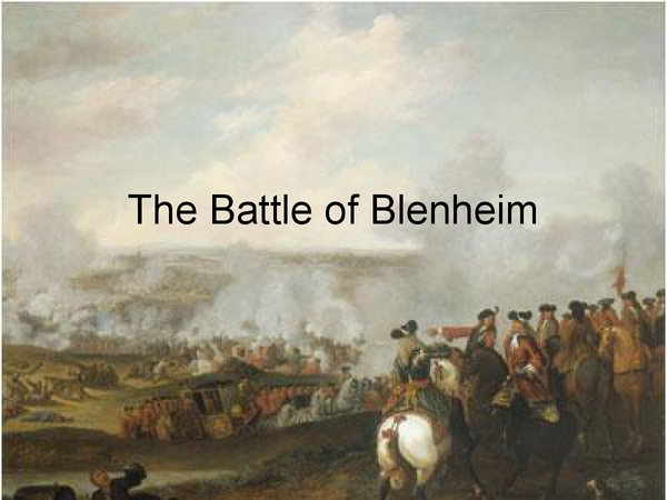 Preview of Battle of Blenheim