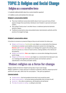 Preview of BELIEFS IN SOCIETY: TOPIC 2
