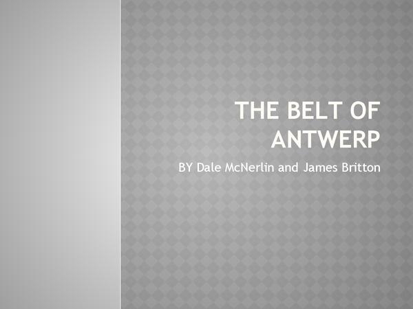 Preview of Belt Of Antwerp