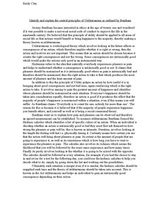 Strengths of nietzsche s fierce opposition to utilitarianism essay on  utilitarianism essay utilitarianism as a series of utilitarianism met with  a thesis
