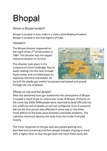 Preview of Bhopal disaster (urbanisation)