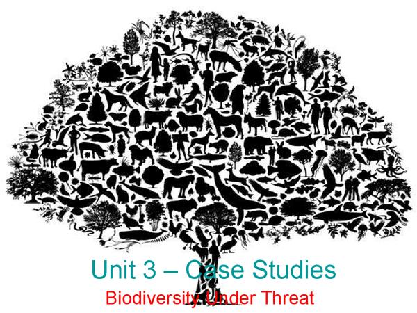 Preview of Biodiversity Under Threat Case Studies