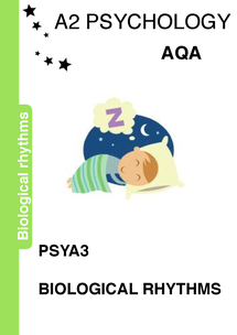 Preview of Biological rhythms revision booklet