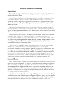 Preview of Biological Explanations of Schizophrenia