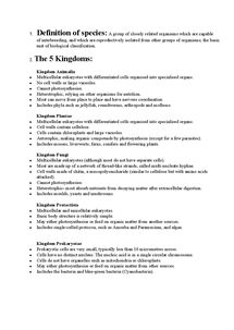 Preview of Biological Kingdoms