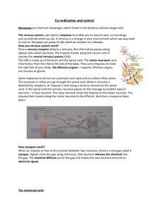 Preview of Biology AQA GCSE Unit 1