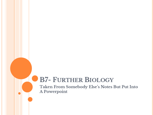 Preview of Biology b7- biology across the ecosystem
