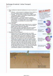 Preview of Biology Further GCSE Revision Notes - AQA
