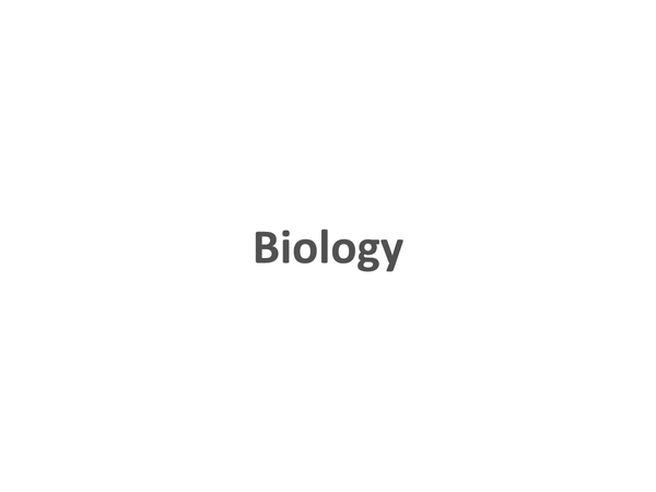 Preview of Biology Revision Cards (B3)