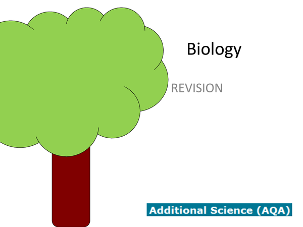 Preview of Biology Revision Powerpoint.