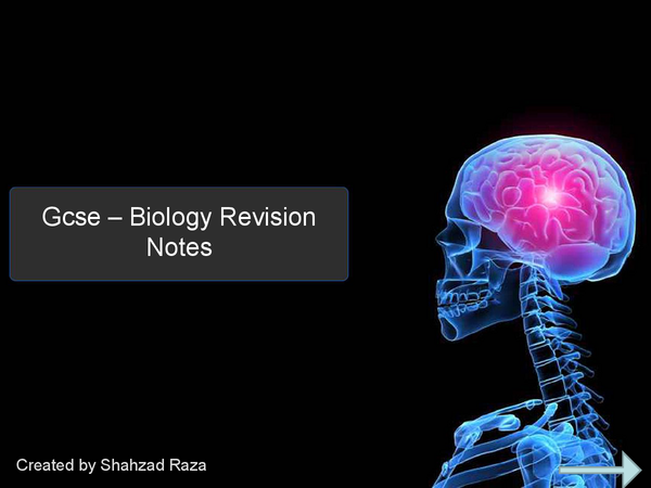 Preview of Biology Revsion Presentation
