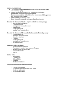 The Edexcel GCE Biology specification and exams - University of York