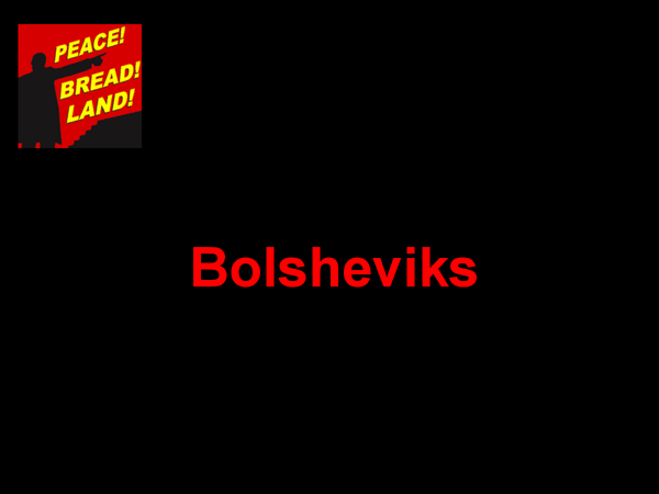 Preview of Bolsheviks & the Oct. revolution 1917 and more...