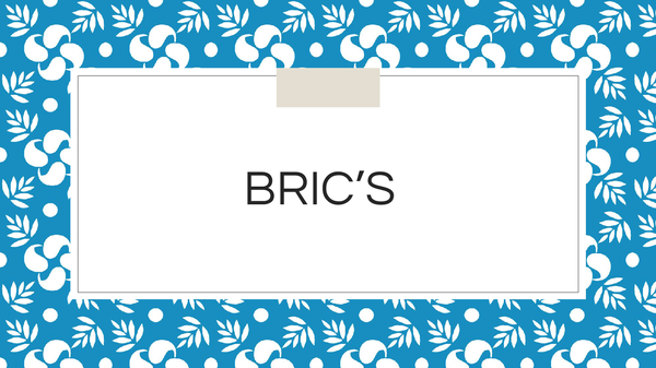 Preview of BRICs