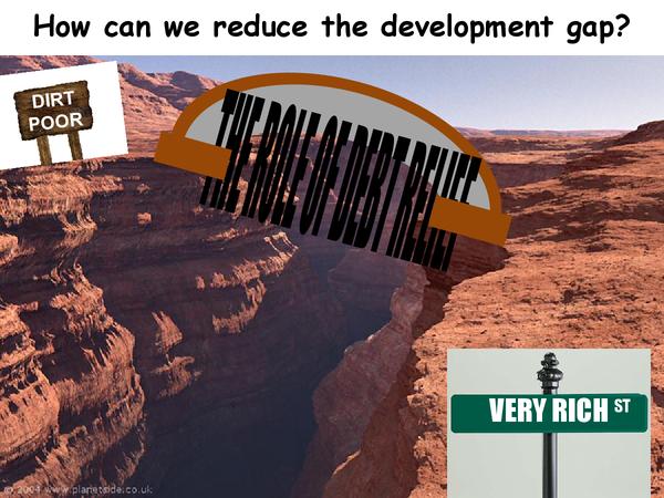 Preview of Bridging the Devlopment Gap: Debt Relief