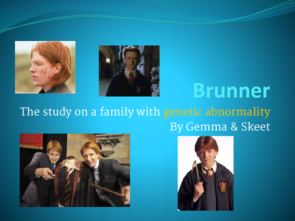 Preview of Brunner genetic abnormality