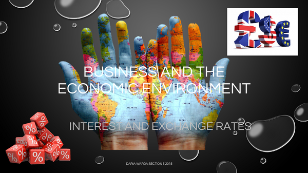 Preview of Business and the Economic Environment