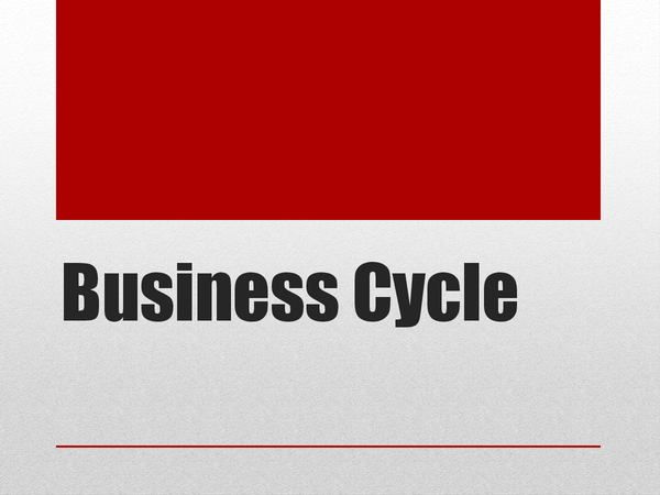 Preview of Business cycle